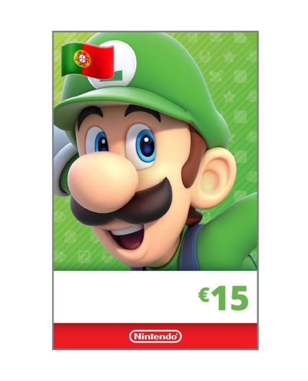 Nintendo eShop 15 euros PT