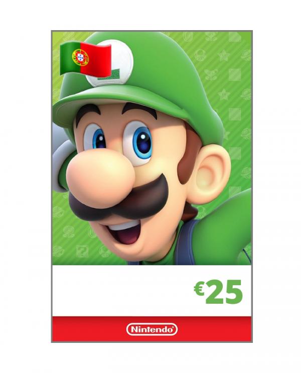Nintendo eShop 25 euros PT