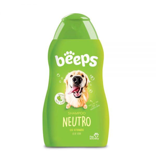 Shampoo Neutro Beeps para todos os tipos de Cães e gatos 500ml