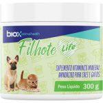 Suplemento_Vitamínico_Mineral_Aminoácido_Biox_Filhote_Life_para_Cães_e_Gatos_2619632
