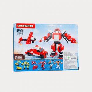 Mini Legos de Robocop 3 em 1
