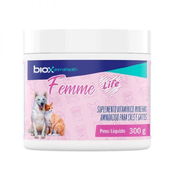 Suplemento Vitamínico Biox Femme Life Para Cães e Gatos 300g