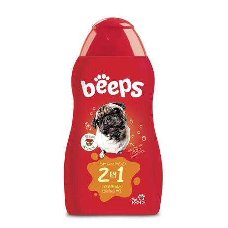 Shampoo Beeps De  Melancia Para Cães 2 em 1 500ml