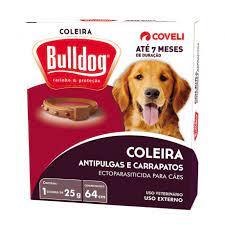 Coleira Bulldog 64cm