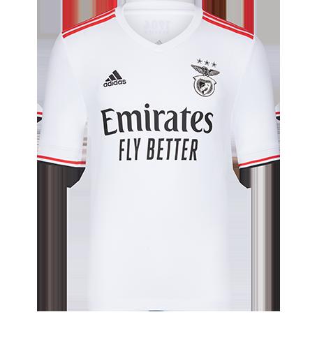 Camisola Alternativa Benfica 2021 2022