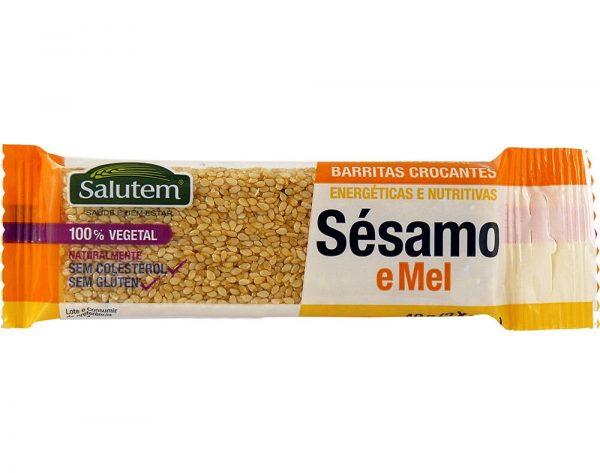 BARRA C.SESAMO SALUTEM 10X40G
