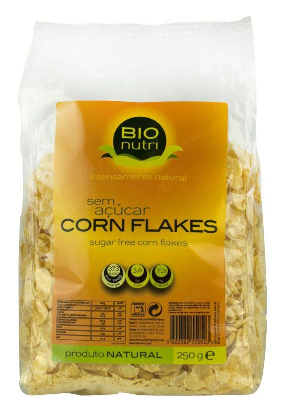BIONUTRI CORN FLAKES 12X250G