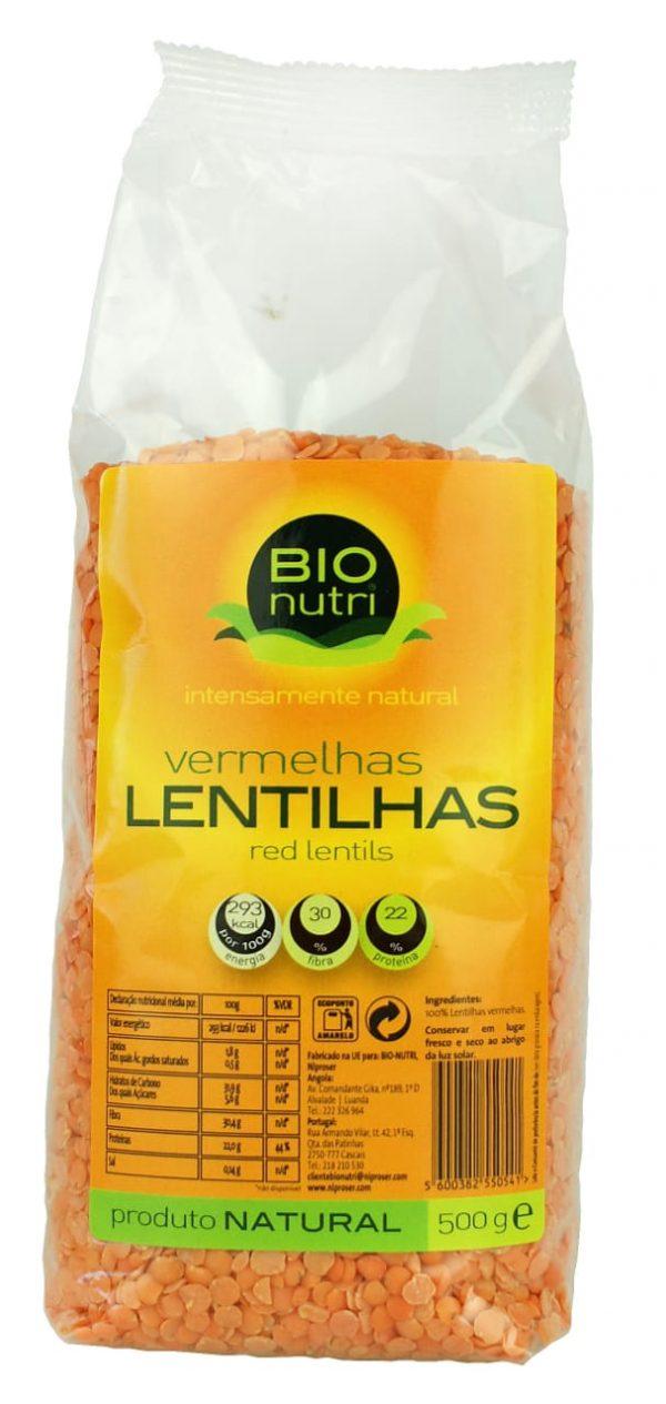 BIONUTRI LENTILHAS VERM. 12X500G